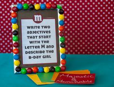Such a cute idea. They used paint sample cards for the guest to write on.  Then I can put it in their 1st birthday book.