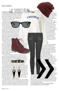 """Trouble"" by keep-it-together ❤ liked on Polyvore"
