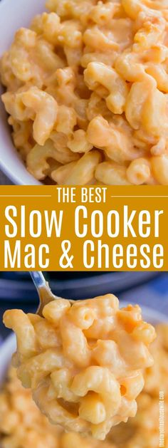 Slow Cooker Mac and Cheese. The best recipe for Slow Cooker Mac and Cheese that I have every tried! Comfort food in the slow cooker! Slow Cooker Chili, Slow Cooker Pasta, Best Slow Cooker, Crock Pot Slow Cooker, Slow Cooker Recipes, Crockpot Recipes, Cooking Recipes, Slow Cooking, Yummy Recipes