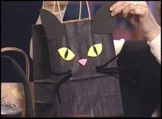 Halloween Cat Bag Craft