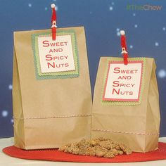 Carla Hall's Sweet and Spicy Nuts #TheChew #DIY #Homemade #HomemadeGift