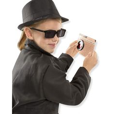 Shop Melissa & Doug Spy Role Play Set Black at Best Buy. Find low everyday prices and buy online for delivery or in-store pick-up. Spy Gear For Kids, Spy Kids, Hawkeye Costume, Spy Party, Arm Guard, Dress Up Outfits, Spy Outfit, Melissa & Doug, Cool Costumes