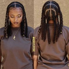 Black Girl Braids, Braided Hairstyles For Black Women, Braids For Black Women, Braids For Black Hair, Girls Braids, Braided Hairstyles For Wedding, Braided Hairstyles Tutorials, Wedding Braids, Braids Hairstyles Pictures