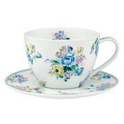 Highgate Rose Breakfast Cup & Saucer