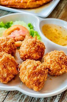 Deep Fried Shrimp Balls