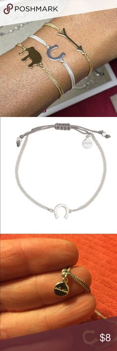 Stella and Dot Horshoe wishing bracelet New without tags Stella & Dot Jewelry Bracelets