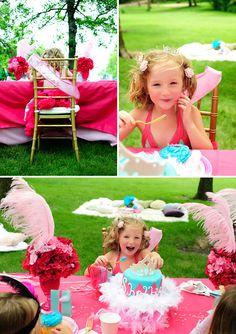 Dicas pra Mamãe: Festa de Princesa no Jardim