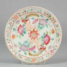 Antique 25.5CM 19C Chinese Porcelain Plate Rare Fish Butterflies Symbols A very nice and special large plate. Very detailed decoration. One of the\u2026 & Antique 25.5CM 19C Chinese Porcelain Plate Rare Fish Butterflies ...