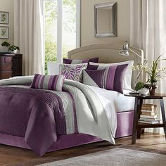 Madison Park Mendocino 7-pc. Pintuck Comforter Set (also at Sears & JCPenny)