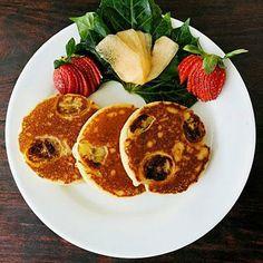 Breakfast recipes: Banana Protein Pancakes