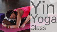 1 Hour Yin Yoga Full Class - All Levels Total Body Stretch - Yoga/Tai Chi/flow - Yoga İdeen Kundalini Yoga, Pranayama, Yoga Meditation, Yoga Flow, Yoga Sequences, Yoga Poses, Fun Poses, Tai Chi, Yoga For Cyclists