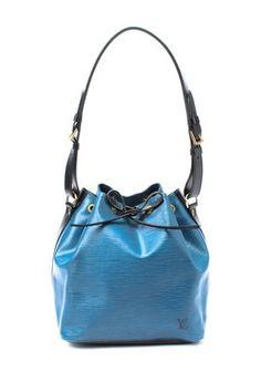 Vintage Leather Petit Noe (Bi-Color) Shoulder Bag