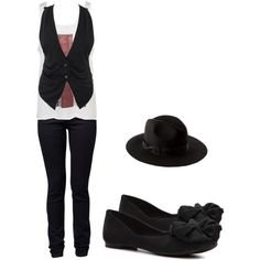"""""""Waitress :P"""" by niquemouse15 on Polyvore"""