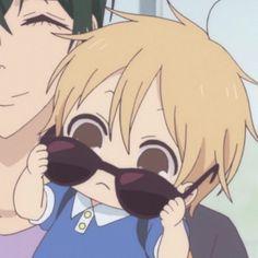 Cute Anime Chibi, Cute Anime Boy, Kawaii Anime, Rainbow Vomit, Little Big Planet, Gakuen Babysitters, Dark Art Drawings, Comedy Anime, Anime Child