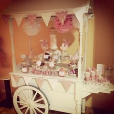 1st birthday sweet cart by The Candy Cart Co