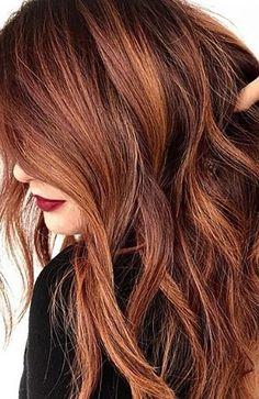20 Sexy Dark Red Hair Ideas To Copy