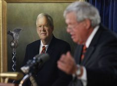Do you think this was the right thing to do in removing this picture. At this point not really sure. New Speaker Paul Ryan  has had a portrait of Dennis Hastert removed from a hallway outside the House chamber, just days after the former speaker pleaded guilty to breaking banking laws in a hush money scheme. Go to donaldtrumo.com