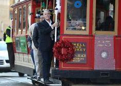 San Francisco cable car ride.
