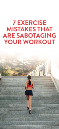 Exercise mistakes and how to avoid them #fitness #tips #list