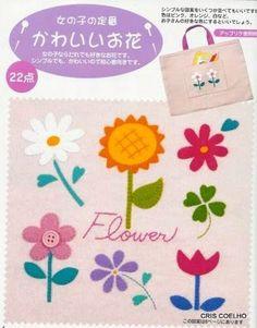 55 APLIQUE JAPONESA - maria cristina Coelho - Picasa Web Albums... FREE BOOK AND PATTERNS!
