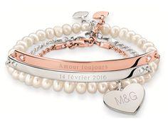A l'occasion de la fête des amoureux, le bijoutier Thomas Sabo lance une édition Saint Valentin Love Bridge 2016 composée detrois bracelets à graver spécialement...