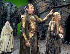 """Sanvers.Is.On. na Twitteri: """"Cate Blanchett, Hugo Weaving, Christopher Lee and Peter Jackson. https://t.co/T9dnobdcSt"""""""