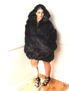 A plus size faux fur anorak?  First Look: The Remi Ray Fall Collection: Can't Keep a Good Woman Down http://thecurvyfashionista.com/2016/10/plus-size-designer-remi-ray-fall/