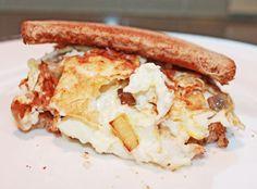 easy healthy breakfast egg white sandwich