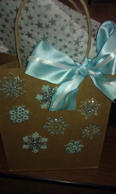 Homemade gift bags