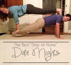 FREE Stay at Home Date Nights!!