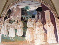 http://affresco.livejournal.com/200077.html Монастырь Монте Оливето Маджоре.