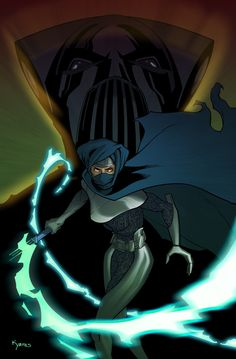 Lumiya-Introduced in Marvel's Star Wars comics as a Dark Jedi who serves a foil for Luke Skywalker after the fall of the Empire. She returns in the Legacy of the Force series, where she trains Jacen Solo in the ways of the Sith and turns him to the dark side of the Force.