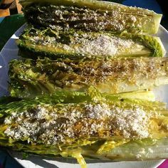 Grilled Romaine Hearts Recipe - How to Grill Romaine Lettuce