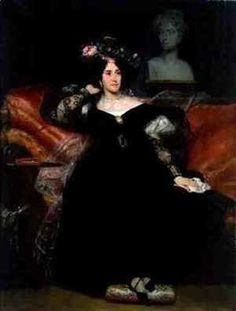 Famous paintings of Portraits: Portrait of Madame Jules Antoine Droz