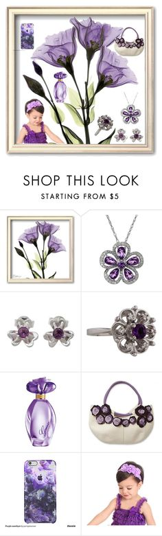 """""""Purple"""" by nizama-bojic-husejnbasic ❤ liked on Polyvore featuring Lord & Taylor, NOVICA, GUESS, women's clothing, women, female, woman, misses and juniors"""