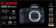 Canon EOS 5D Mark III Body Rp.29.575.000.- | FREE Battery LP-E6 + Backpack Berlaku s/d 11 Agustus 2013 (Garansi PT.Datascrip)