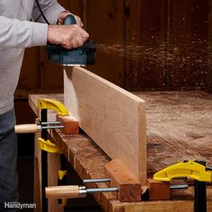 Upright for Edge Work - A woodworker's vise is the best way to hold boards on…