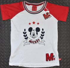 a69f9ab7dc6288 MICKEY MOUSE PRIMARK T Shirt CLASSIC OFFICIAL DISNEY Womens Ladies UK sizes  4 - 20