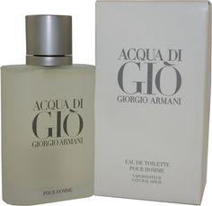 Armani Acqua Di Gio Eau de Toilette 100ml | Cheeky Wish List | Wedding and Birthday Gift Ideas for Men and Women
