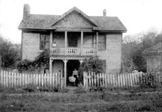 Johnston-Waugh home in  Glade Spring, Virginia  about 1905.
