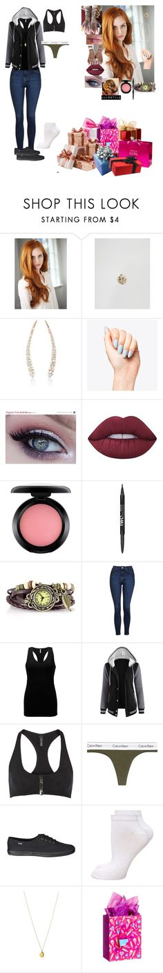 """A.J. celebrating her 14th (24th) birthday at Hogwarts"" by andyarana ❤ liked on Polyvore featuring Kingsley Ryan, Jade Trau, Lime Crime, MAC Cosmetics, NYX, Topshop, BKE, Lisa Marie Fernandez, Calvin Klein Underwear and Dorothy Perkins"