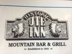 "We have only eaten here for lunch and the food was typical diner food. This description is from the website: The ""Ute"" has been a Woodland Park hot spot since the early forties, and has gained notoriety for its food and drink specials, friendly atmosphere, and live music."