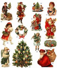 Imprimolandia: Recortables de Navidad