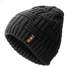 Men Stripe Cotton Woolen Beanie Cap Winter Outdoor Snow Leisure Casual Warm Soft Hat is hot sale on Newchic Mobile. Knit Hat For Men, Hat For Man, Beanie Hats, Beanies, Knitted Hats, Crochet Hats, Hats Online, Mens Caps, Caps Hats