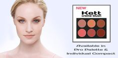 The wait is OVER! Kett's NEW Fixx Creme blushes are available for purchase in pro palettes and single compacts: http://kettcosmetics.com/fixx_creme_blush.php