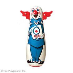Bozo The Clown Punching Bop Bag
