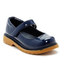 Another great find on #zulily! Navy Joan Mary Jane - Girls #zulilyfinds