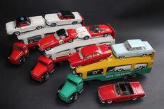 TEKNO PORTE AUTOS, CAR TRANSPORTER - BISARCA - VOLVO, OPEL, MERCEDES, JAGUAR, MUSTANG