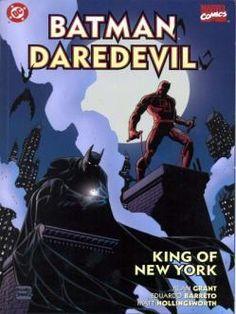 Batman Daredevil King of New York 1 Marvel DC comic book covers Batman Vs, Batman Ninja, Marvel Dc Comics, Best Comic Books, Comic Books Art, Comic Art, Book Art, Best Superhero, Detective Comics