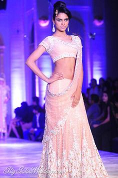 Neeta Lulla Aamby Valley India Bridal Week 2013 | Lehengas  Sarees | Bigindianwedding